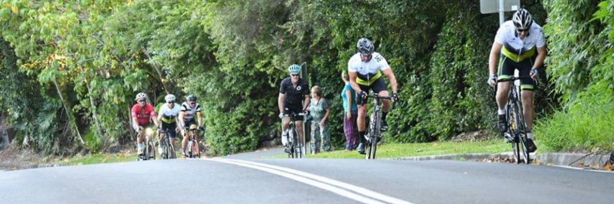 riders from the Buderim 9 Challenge Ride