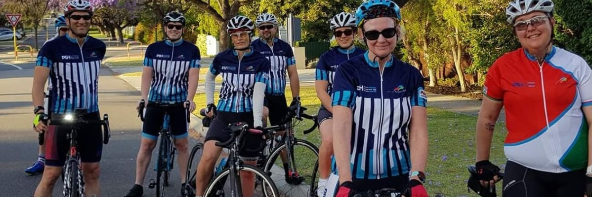 riders from the City of Armadale Grand Fondo