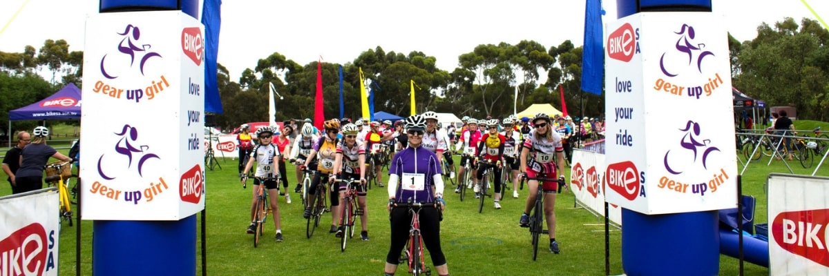 riders from the Gear up Girl Adelaide